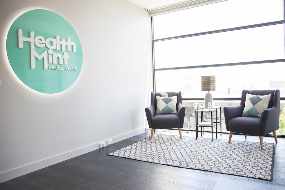 healthmint entrance